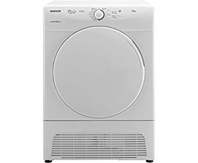 Hoover VTV570NB VISION TECH 7kg Load Vented Tumble Dryer 4 Programmes White
