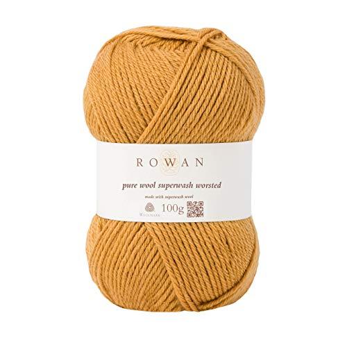 Rowan 9802170-00133 Handstrickgarn, 100% Wolle, Gold, OneSize