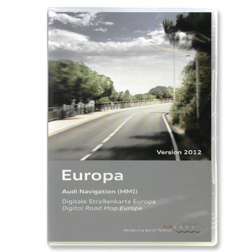 Audi DVD Navigation - Navi - Navigations DVD 2012 für Europa MMI2G 4E0060884CN