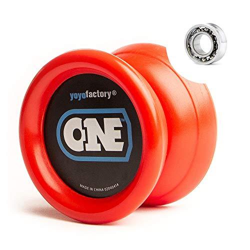 YoyoFactory One Yoyo - Rouge (du Débutant Au Professionnel, Ficelle Et Instructions Incluses)