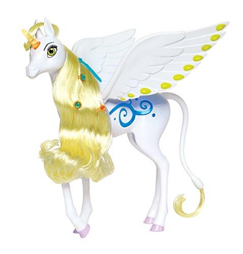 Simba 109480095 - Mia und Me Magisches Einhorn Onchao / mit Licht und Sound / Bewegliche Flügel / spielt Titelsong / 25cm