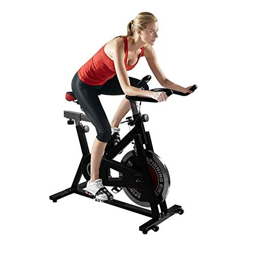 Discover Bargain BZLLW Exercise Bike Indoor Cycling - Workout Bicycle Stationary Bikes Machine - wit...