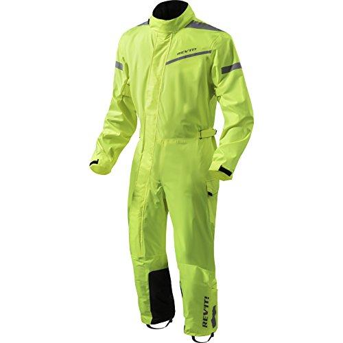 Revit Einteilige Textilkombi Pacific 2 H2O, Farbe Neongelb-schwarz, Größe 3XL