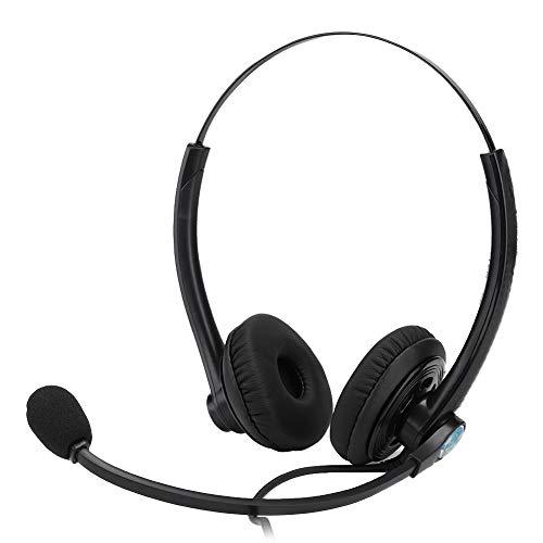 Kundtjänst Hörlurar, Kundtjänst Telesales Headset, Call Center Kundtjänst Headset Telefon Hörlurar Brusreducerande Headset.