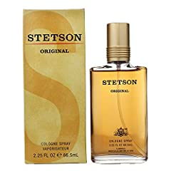 A WESTERN ORIGNIAL Stetson Original Cologne is a confident, classic scent of the American West with rich, woodsy, citrus spice & notes of bergamot & musk. Let Stetson take the guess work out of fragrances & become loyal to this true scent of the West...