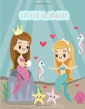 LITTLE MERMAID COLORING BOOK: MERMAID ACTIVITY COLORING BOOK FOR GIRLS. MERMAID COLORING BOOK FOR KIDS AGES 4-8.Cute, Unique Coloring Pages.