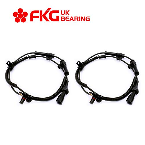 FKG ABS Wheel Speed Sensor Front Left and Right ALS505 for 2005-2010 Ford F-250 Super Duty, 2005-2010 Ford F-350 Super Duty, Set of 2