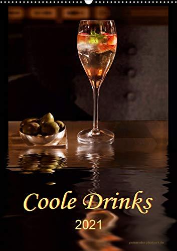 Coole Drinks (Wandkalender 2021 DIN A2 hoch)