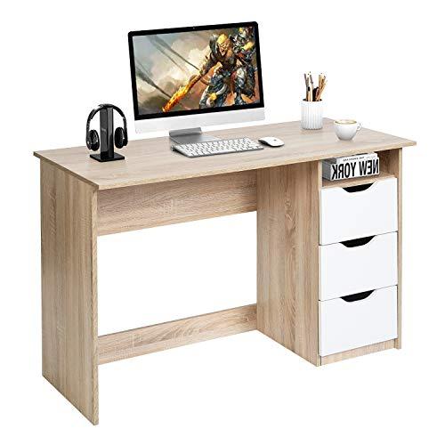 escritorio infantil blanco de la marca FurnitureR
