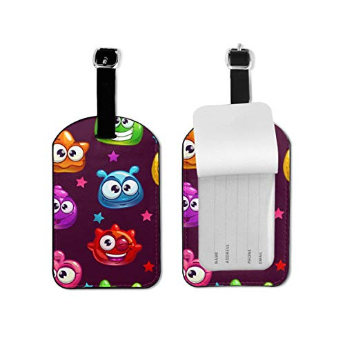 2 Pack Luggage Tags Cow Cruise Luggage Tag For Travel Bag Suitcase Accessories