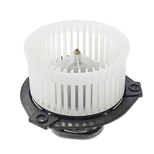 A-Premium Heater Blower Motor with Fan Cage Replacement for Chevrolet Trailblazer 2002-2009 Buick Rainier GMC Envoy Saab 9-7x