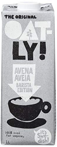Oatly, Leche (Avena, Barista Edition) - 6 de 1000 ml. (Total 6000 ml.)
