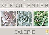 Sukkulenten Galerie (Wandkalender 2022 DIN A2 quer): Beeindruckende Nahaufnahmen von Sukkulenten (Monatskalender, 14 Seiten )
