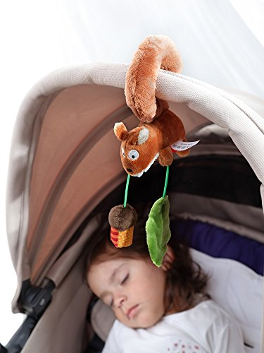 Sigikid Squirrel - Clip para silla de coche