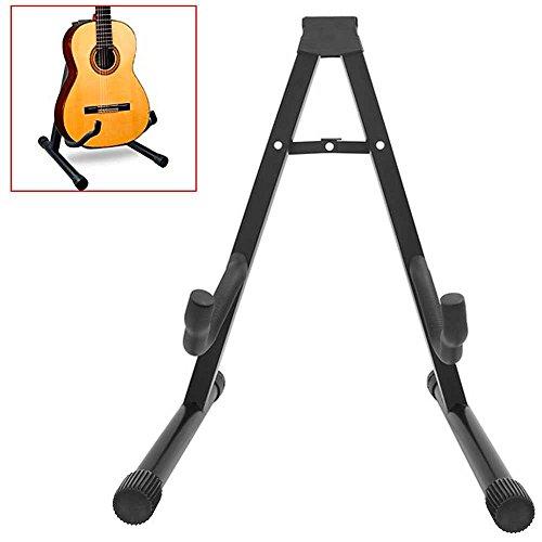 potente para casa OcioDual Universal Soporte de suelo plegable y ajustable, compatible con todas las guitarras …