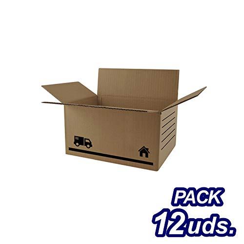 CRISCOLOR Caja Cartón, 30x20x15cm. PACK 12 UNIDADES