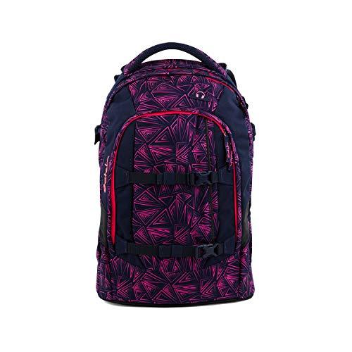 Satch pack Schulrucksack - ergonomisch, 30 Liter, Organisationstalent - Pink Bermuda - Pink