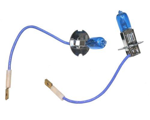 AERZETIX: 2x Bombillas H3 24V 100W con efecto Xenon Luz blanco C2047