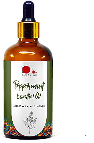 Glamorous Hub looms & weaves 100% Pure Natural & Undiluted Peppermint Essential Oil 100ML