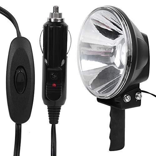 Reflector de mano LED de 7 pulgadas, cómodo proyector para exteriores para cazar al hombre para pescar