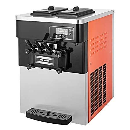 VEVOR Machine à Crème Glacée de Table Professionnel Sorbetière à Glace Ice Cream Machine pour fabriquer crème glacée Molle, et d'Autres sorbets, dans Les Restaurants, Les cafés, Fast Foods
