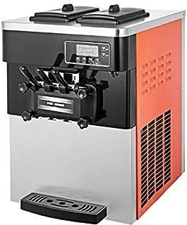 VEVOR Machine à Crème Glacée de Table Professionnel Sorbetière à Glace Ice Cream Machine pour fabriquer crème glacée Moll...