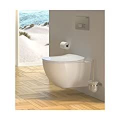 CREAVIT Rinse RimLess Hanging Shower Wc Taharet Bidet Taharat Intimate Shower incl. Duroplast Soft-Close Lid FE322*