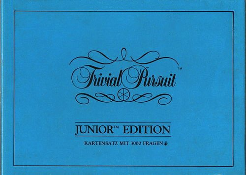 Trivial Pursuit Junior Edition: Karten-Set [1000 Fragen- und Antwortkarten].