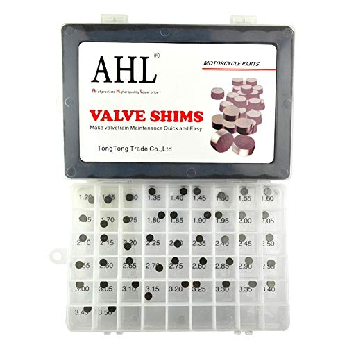 AHL 7.48mm 47pcs 1.20-3.50mm kit valve shim pastilles soupapes pour CBR600F F2 1991-1994 / CBR600F F3 1995-1998 / CBR600F F4 1999-2000