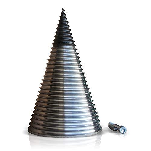 Kegel Ø230 mm mit Ersatzspitze Kegelspalter Holzspalter Spaltgerät Drillkegel 230/2