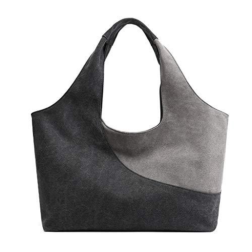 JERKKY schoudertas van canvas Vintage 1 stuk schoudertas voor dames schoudertas Messenger tas grijs