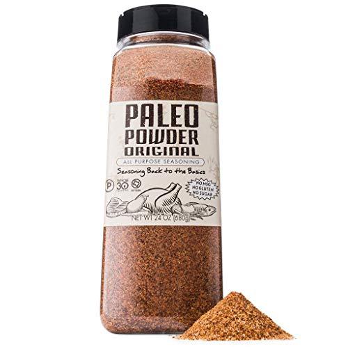 Paleo Powder All Purpose Seasoning Original Flavor. The First and Original Paleo Food Seasoning Great for all Paleo Diets! Certified Keto Food, Paleo Whole 30, Gluten Free Seasoning
