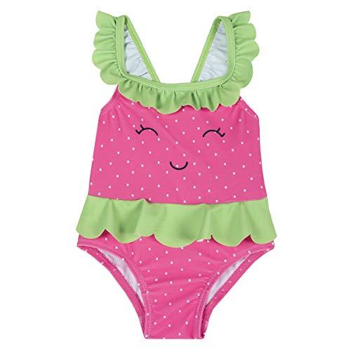 Chicco Baby-Mädchen Costume da bagno intero Badeanzug Einteiler, 18, 74 cm