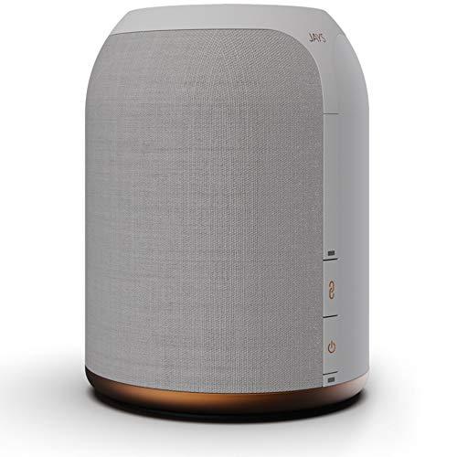 JAYS Multiroom Bluetooth Lautsprecher System – s-Living One Weiß WLAN Speaker für Musik, TV und Stream