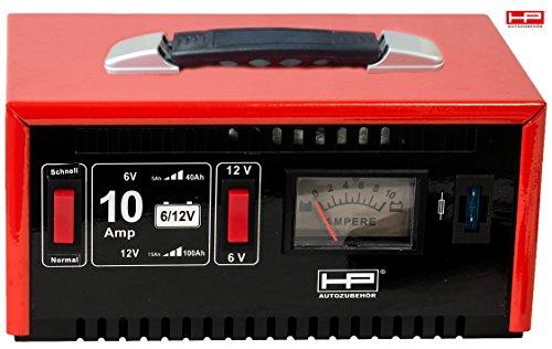 HP Autozubehör Accessoire pour Voiture 20510 10 Amp Chargeur de Batterie