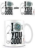 Marvel MG25656 Avengers: Endgame - Tazza in ceramica, 315 ml, motivo: Je t'aime Plus Que 3 Fois Mille