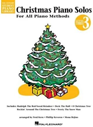 [(Hal Leonard Student Piano Library: Christmas Piano Solos Level 3 )] [Author: Christopher] [Jun-2002]