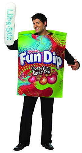 Dani Filth Halloween Costumes - Rasta Imposta mens Nestle Fun Dip