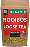 Organic Rooibos Loose Leaf Tea | Brew 200 Cups | Raw from South Africa | 16oz/453g Resealable Kraft Bag | by FGO