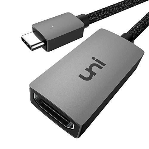 mächtig der welt USB C-HDMI 4K Adapter, Uni USB Typ C-HDMI Adapter (Thunderbolt 3 kompatibel) bis 4K,…