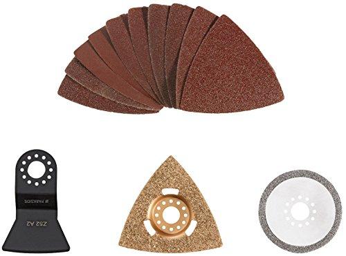 PARKSIDE® Multifunktionswerkzeug-Zubehör PMFWZ 3, 13-teilig (Bad-Sanierungs-Set)