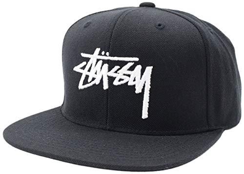 [ステューシー] キャップ 帽子 Stock Snapback Cap フリー ブラック [並行輸入品]