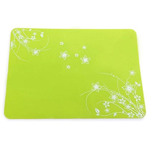 PIXNOR Dessous de plat / Maniques en silicone (vert)