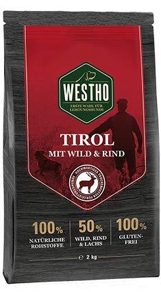 WESTHO Trockenfutter Tirol mit 50 % Rind, Lachs & Wild 2kg