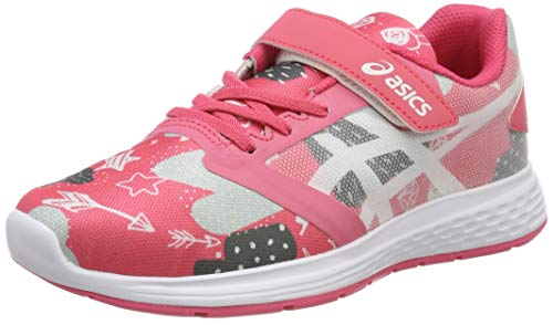Asics Patriot 10 PS SP, Zapatillas de Running Unisex niños, Multicolor (Pink Cameo/White 700), 34.5 EU