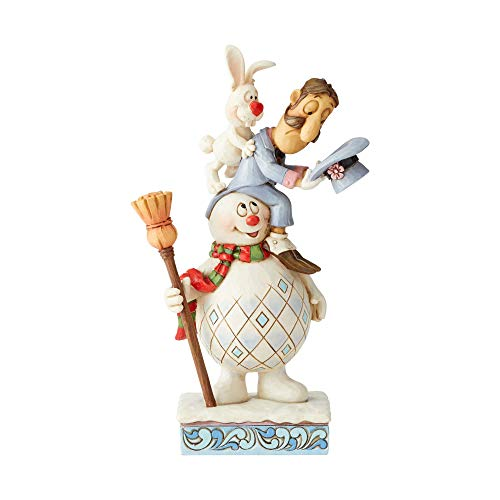 Enesco Frosty The Snowman by Jim Shore Frosty, Magier und Hocus Stack Figur
