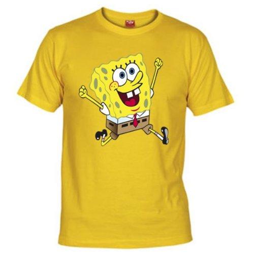 Mx Games Camiseta Bob Esponja Corriendo (Talla: Talla-L)