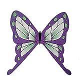Demon Slayer Kimetsu No Yaiba Tsuyuri Kanawo Kochou Shinobu Headwear Demon Slayer Hair Pin Cosplay Butterfly Pin Purple