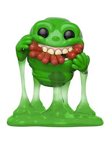 Funko 39333 POP Vinyl: Ghostbusters: Slimer w/Hot Dogs Sammelbares Spielzeug, Mehrfarben