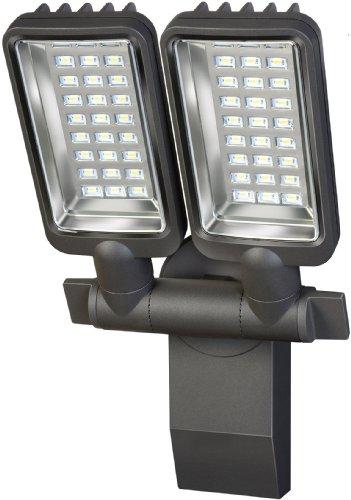 Brennenstuhl 1179670 City Duo Premium - Foco LED (54 bombillas de 0,5 W, SV5405, IP44)